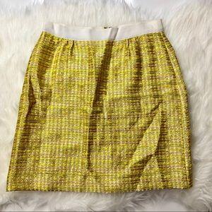 Kate Spade New York Metallic Tweed Skirt
